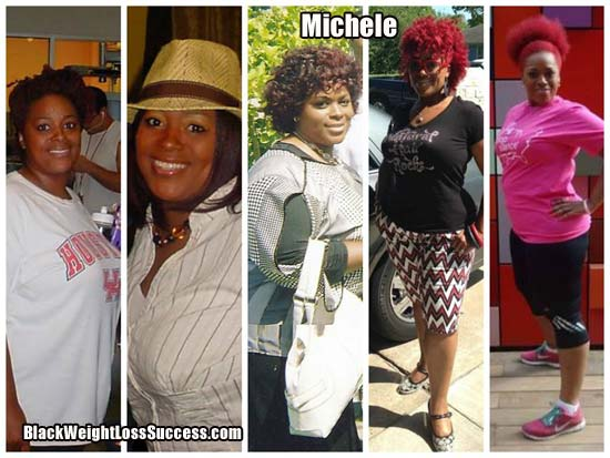 Michele weight loss journey