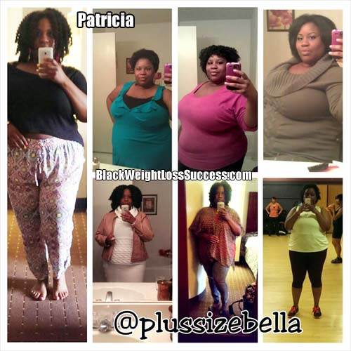 Patricia before and after photos