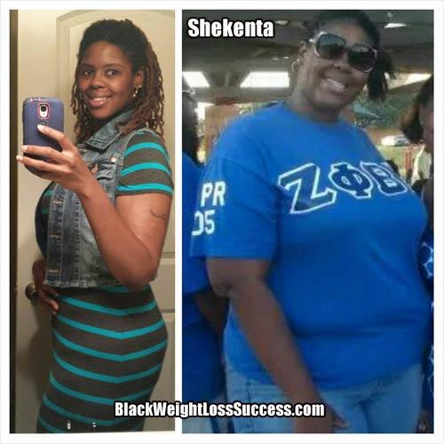 Shekenta weight loss