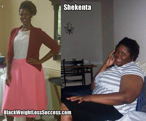 Shekenta before and after