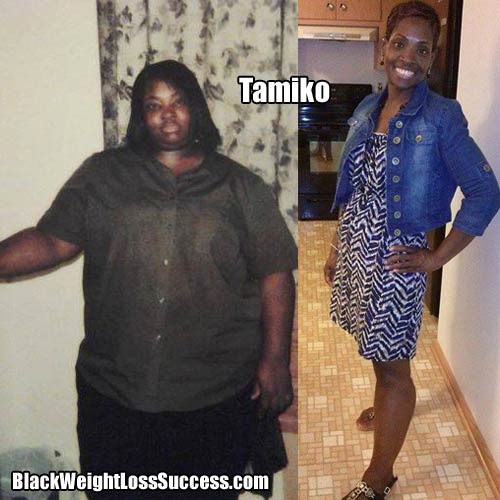 Tamiko before and after