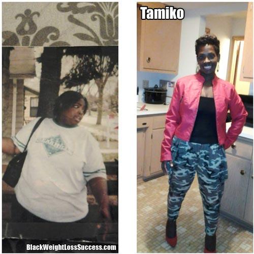 Tamiko weight loss