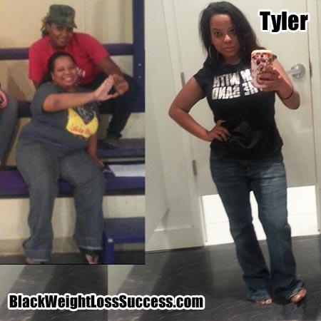 Tyler weight loss