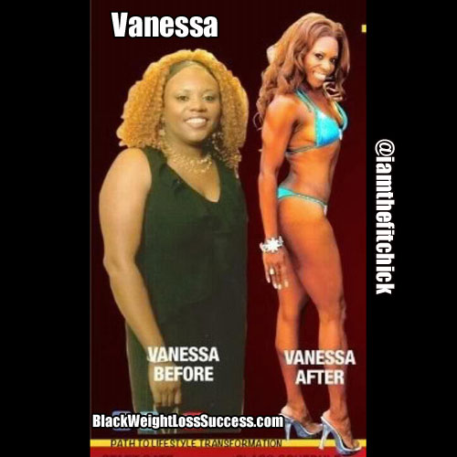 vanessa weight loss transformation