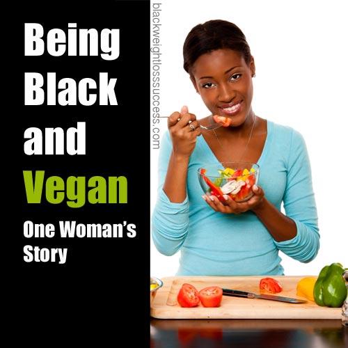 black and vegan