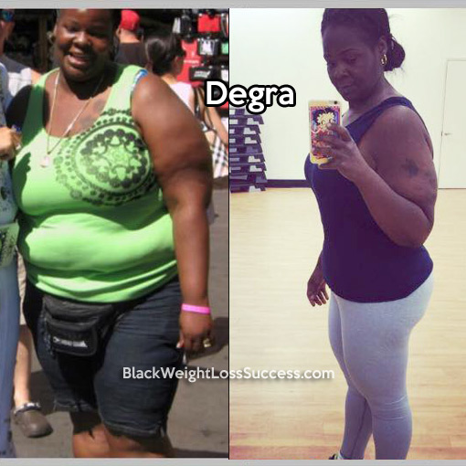 degra weight loss story