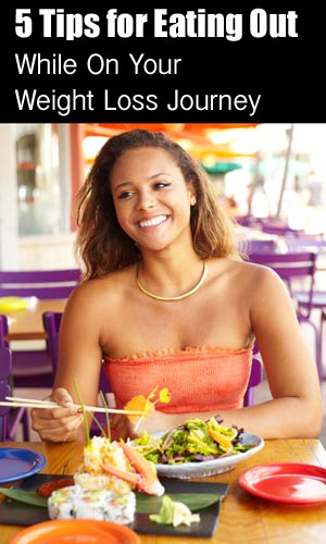 eating out while losing weight