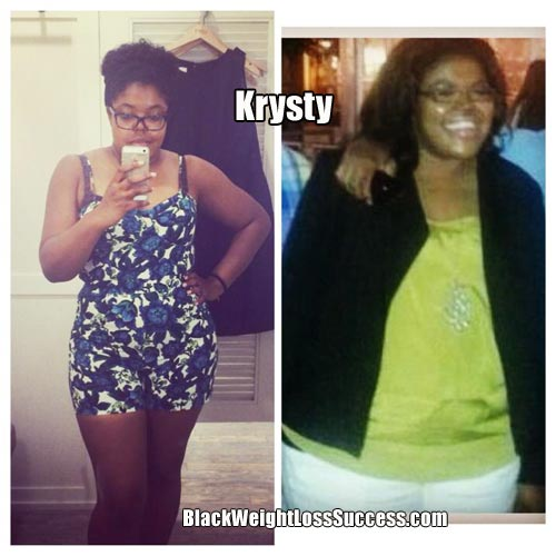 krysty before and after