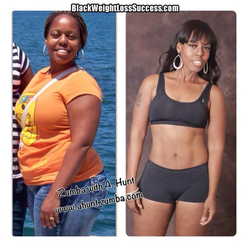 A Hunt weight loss