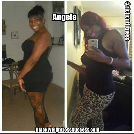 Angela before and after pictures