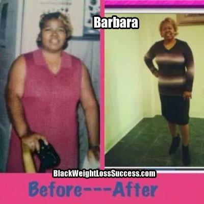 Barbara weight loss success