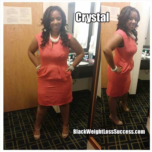 Crystal after weight loss