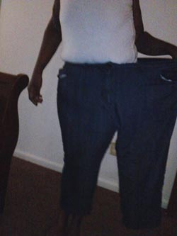 Dee weight loss old pants