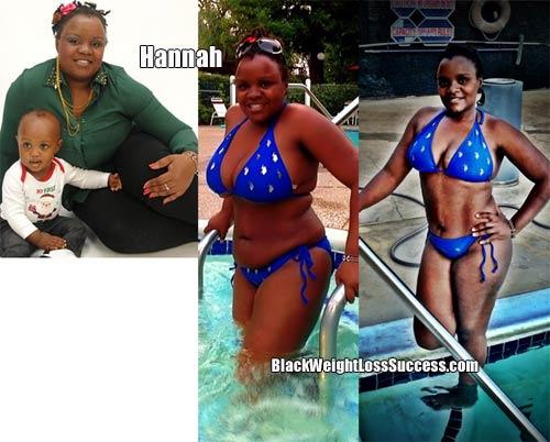 Hannah weight loss