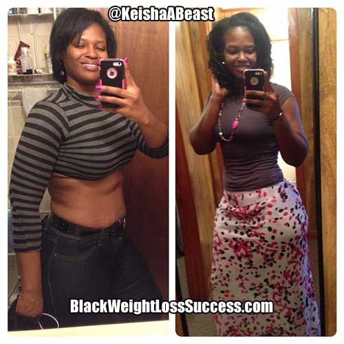 Keisha weight loss story