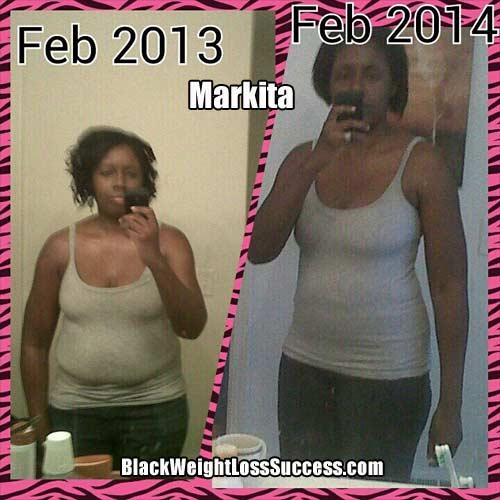 Markita weight loss mom