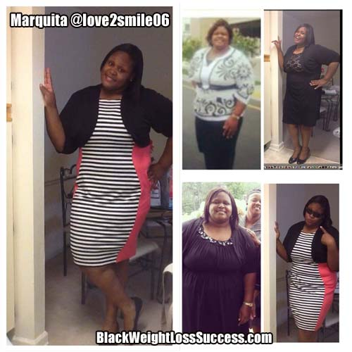 Marquita before and after photos