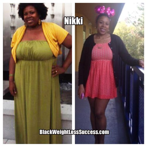 Nikki before and after