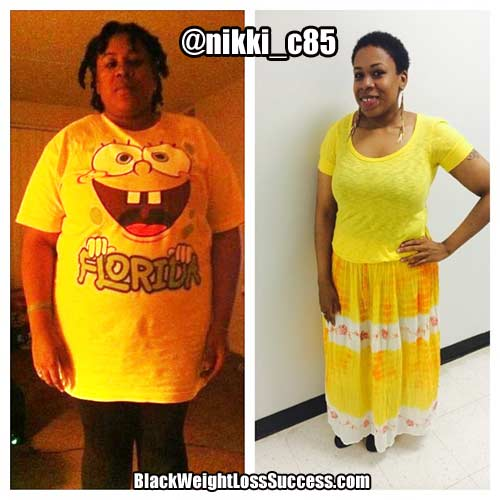 Nikki weight loss story