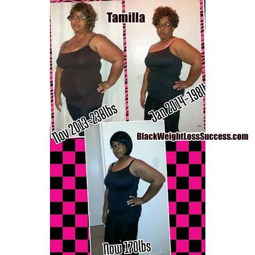 Tamilla weight loss story