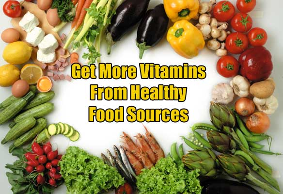 get more vitamins from food