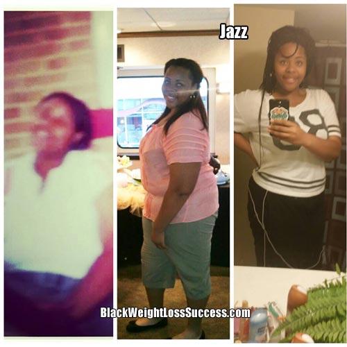 jazz weight loss success story