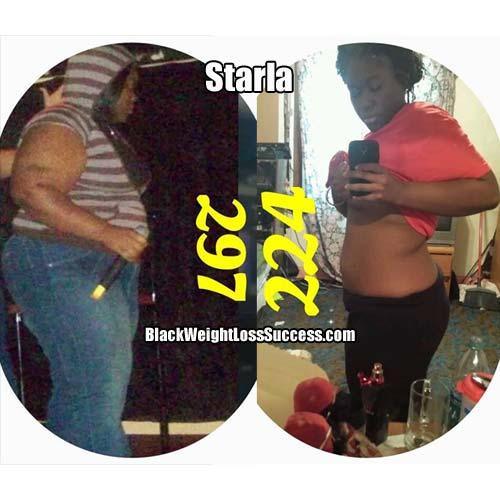 starla weight loss photos