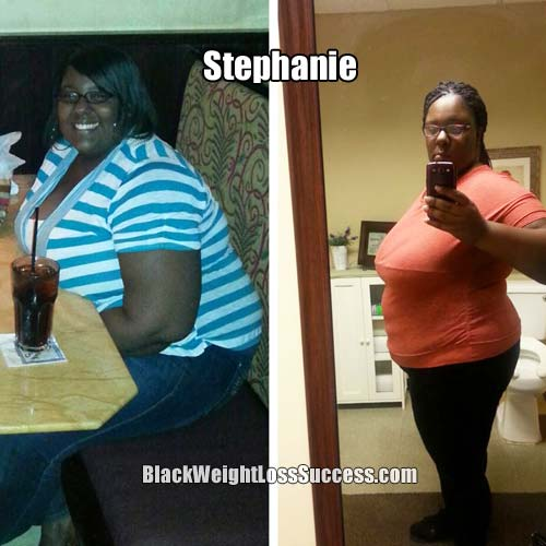 stephanie weight loss story