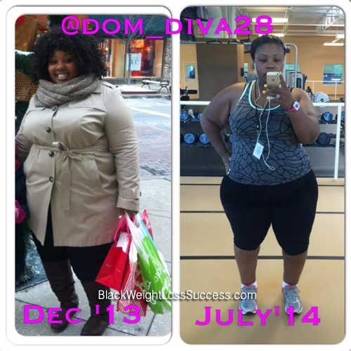 Dominique weight loss mom