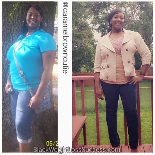 Monica weight loss success story
