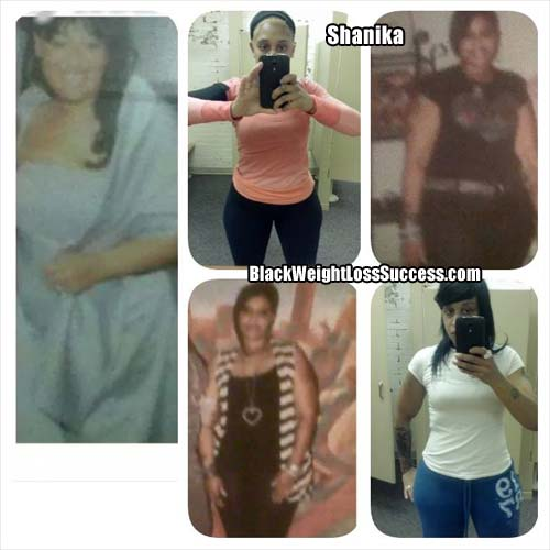 Shanika before and after