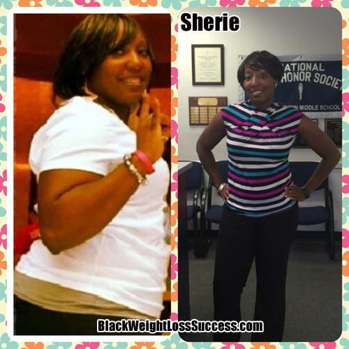 Sherie weight loss