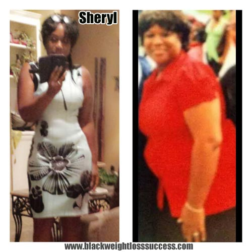 Sheryl before and after
