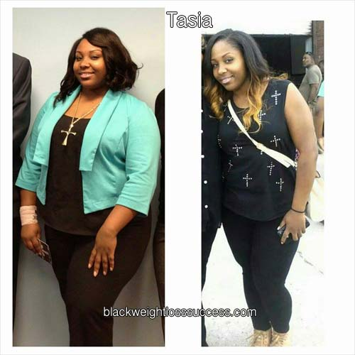 Tasia before and after photos
