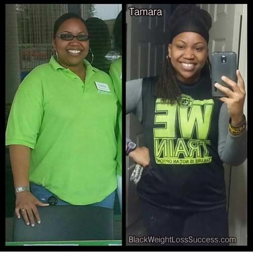tamara weight loss success