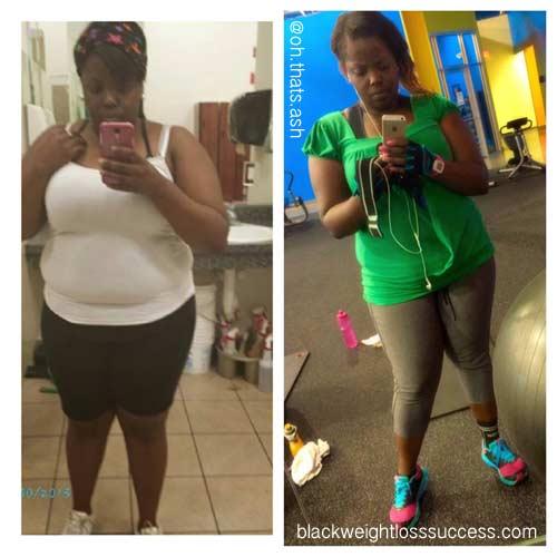 Ashley weight loss photos
