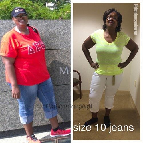 Deb weight loss story single mom