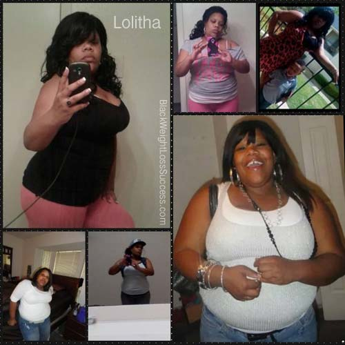 Lolitha weight loss journey