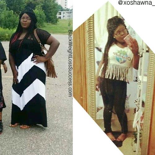 Shawna weight loss