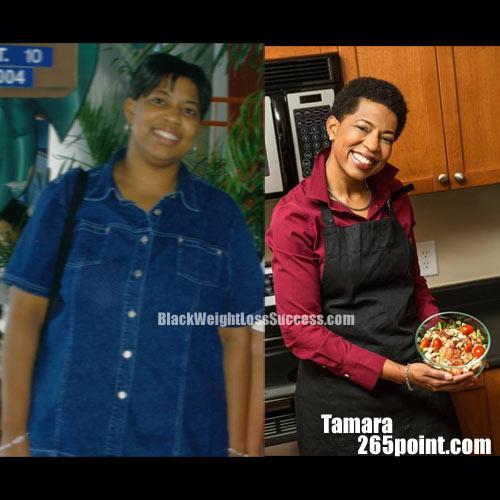 Tamara fitness and weight loss expert