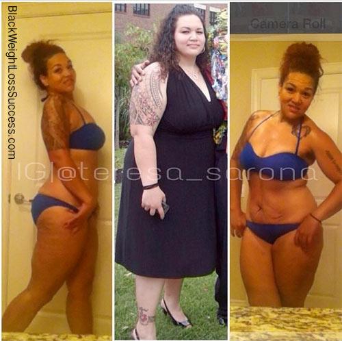Teresa weight loss story