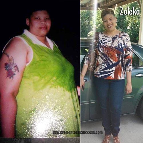 Zoleka weight loss