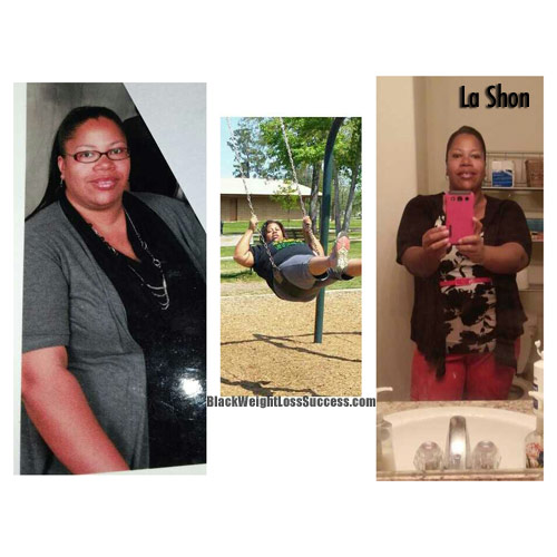 La Shon Weight Loss Journey
