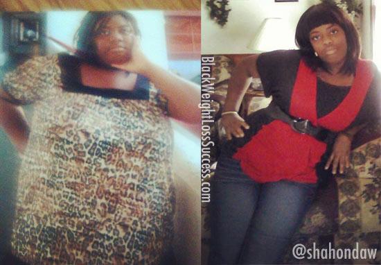 shahonda weight loss success