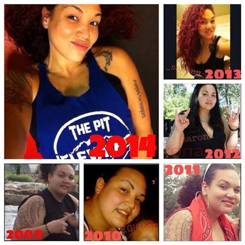 teresa weight loss success
