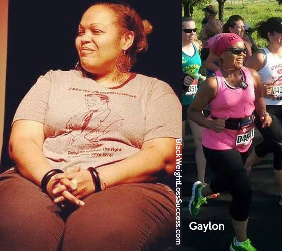 Gaylon before and after