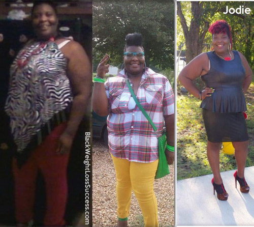 Jodie before and after