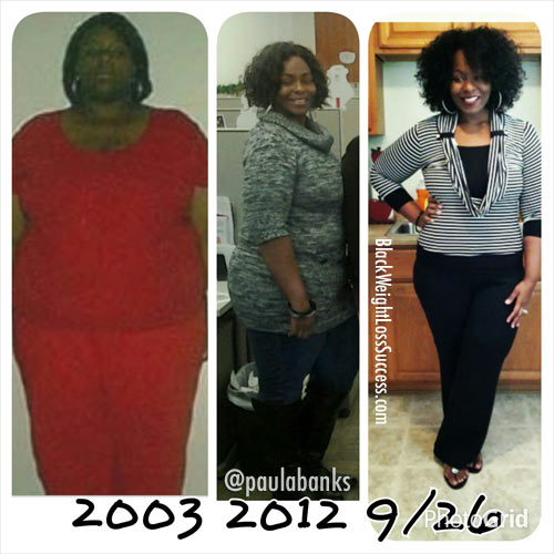 Paula weight loss transformation
