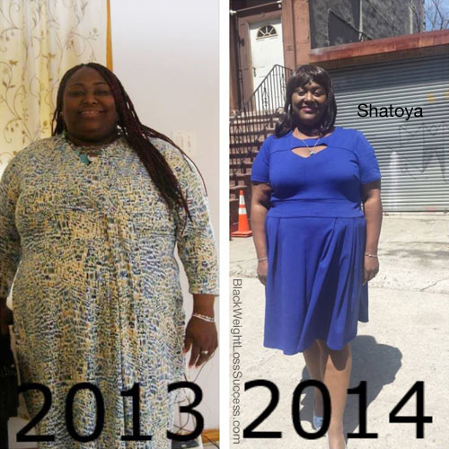 Shatoya before and after