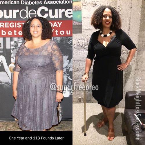 kim sugarfreeoreo weight loss